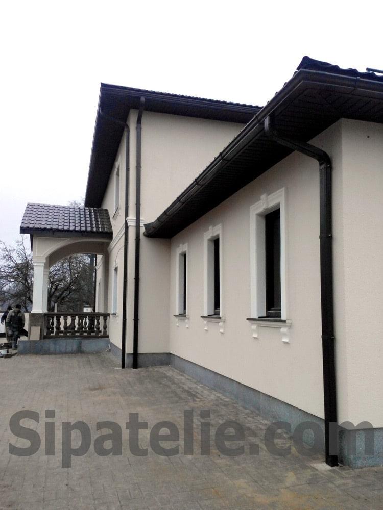 дома из СИП/SIP панелей в Латвии - Рига