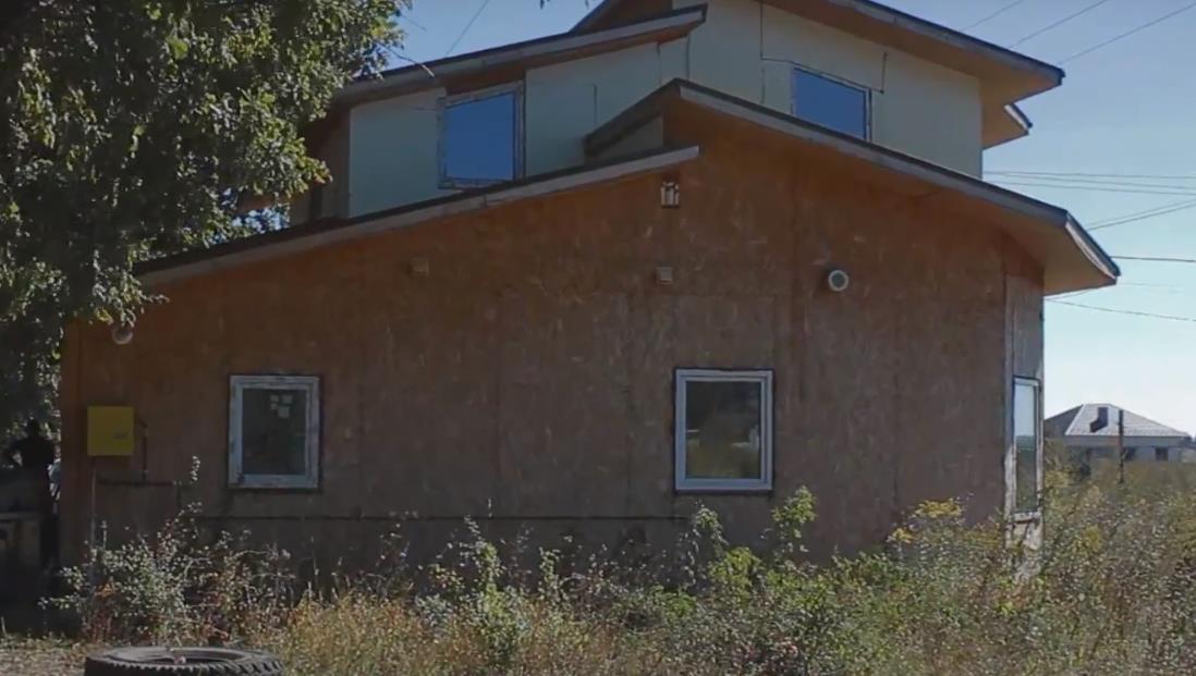 Частный дом из сип панелей