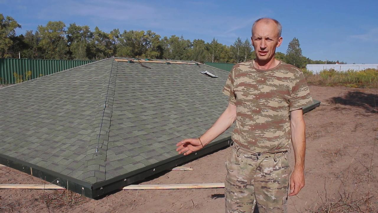 Отзыв Ярослава с.Петровское. Снятие крыши краном, надстройка второго этажа (дом сдан в 2016 году)