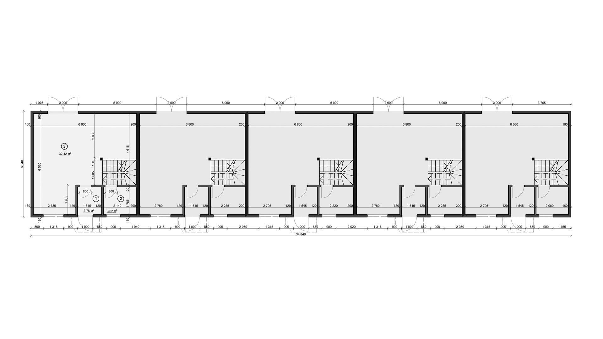 Планировка дома DB2 - фото 1