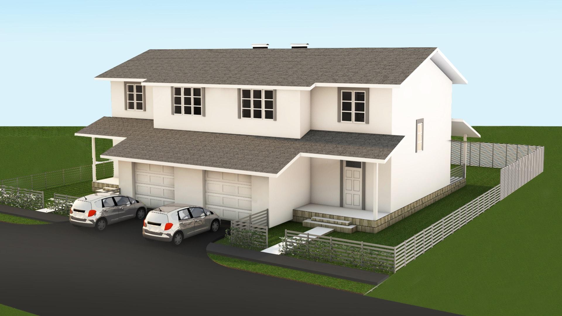 Проект дома DB3