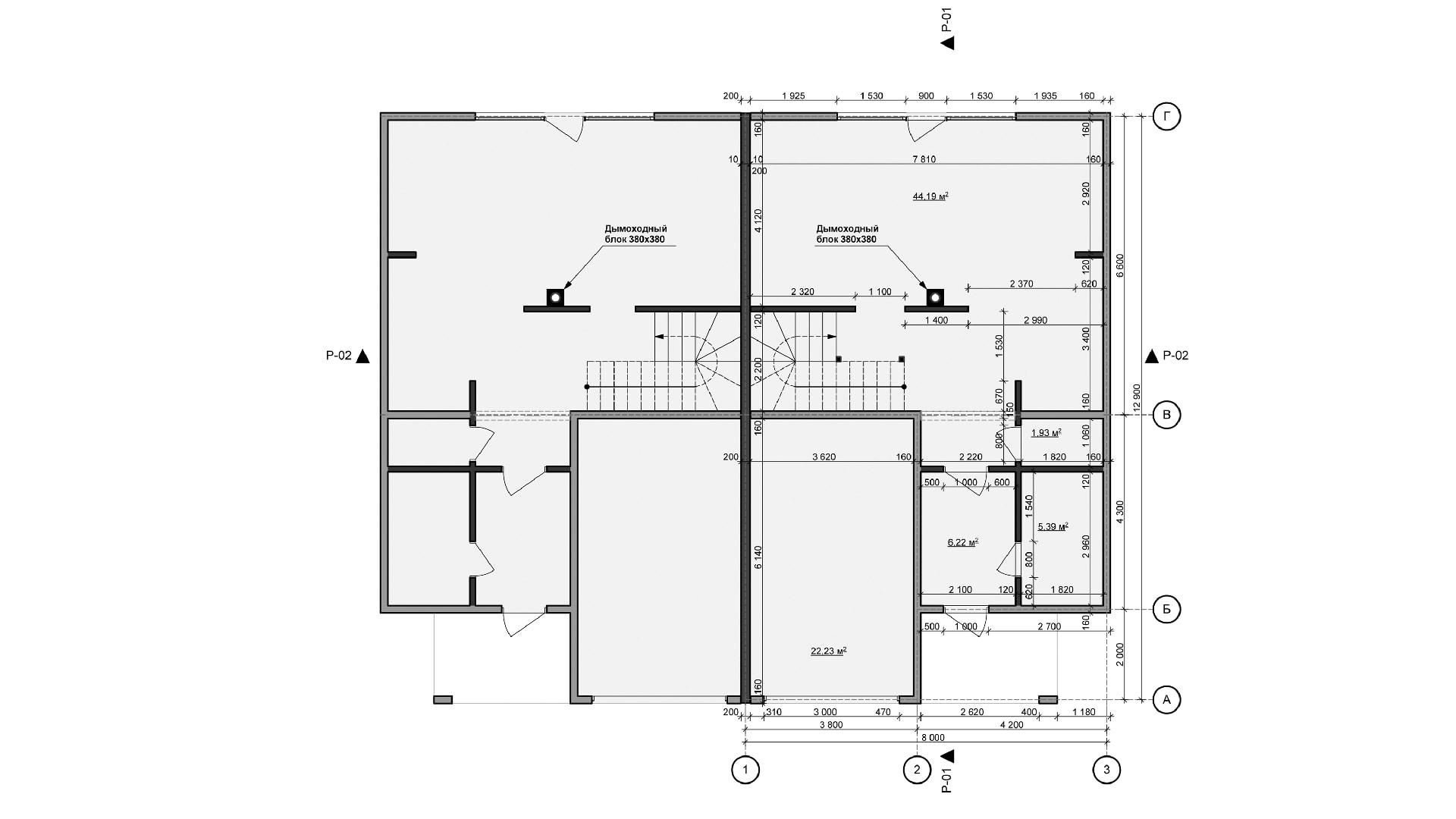 Планировка дома DB4 - фото 1