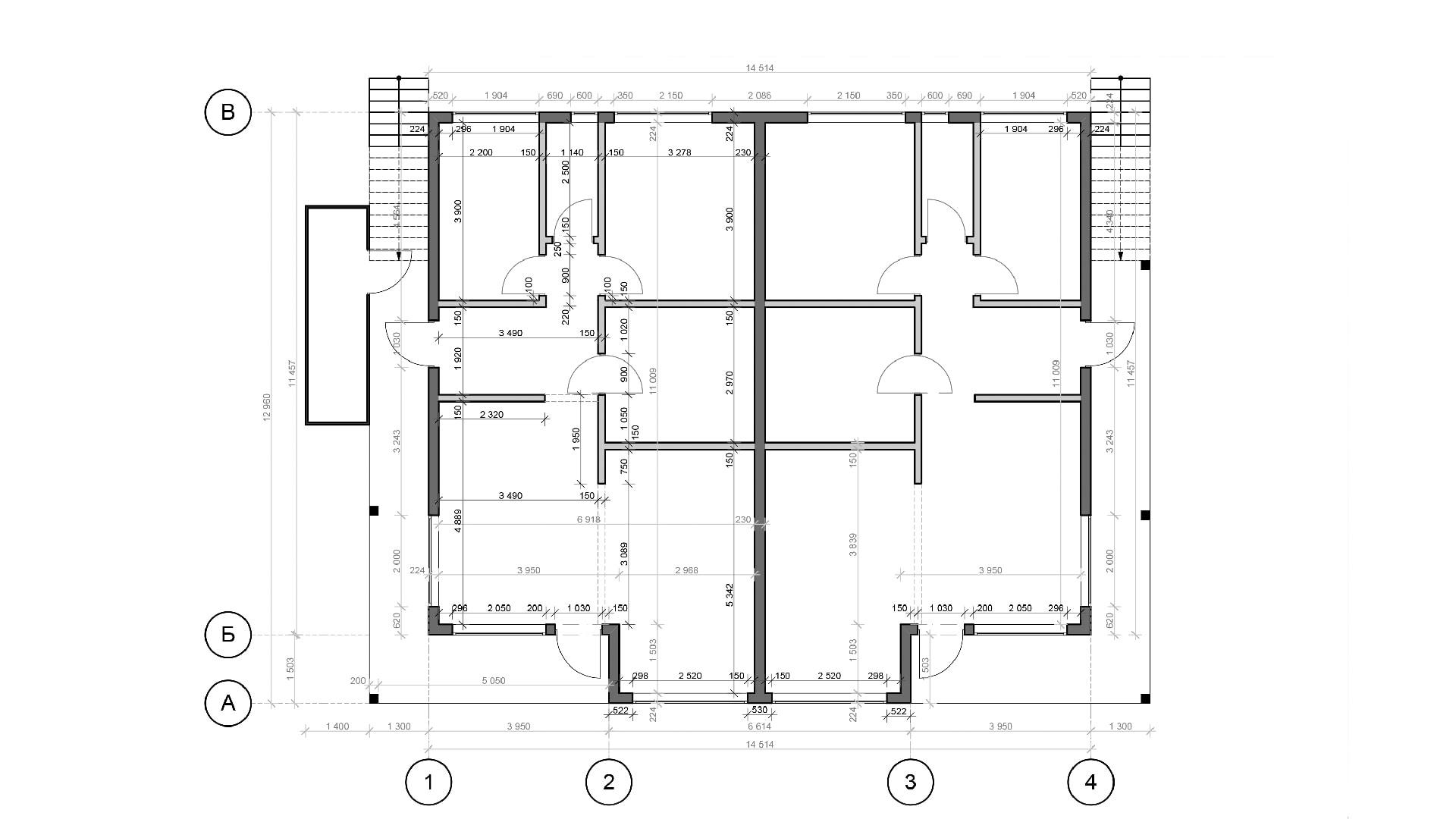 Планировка дома DB5 - фото 1