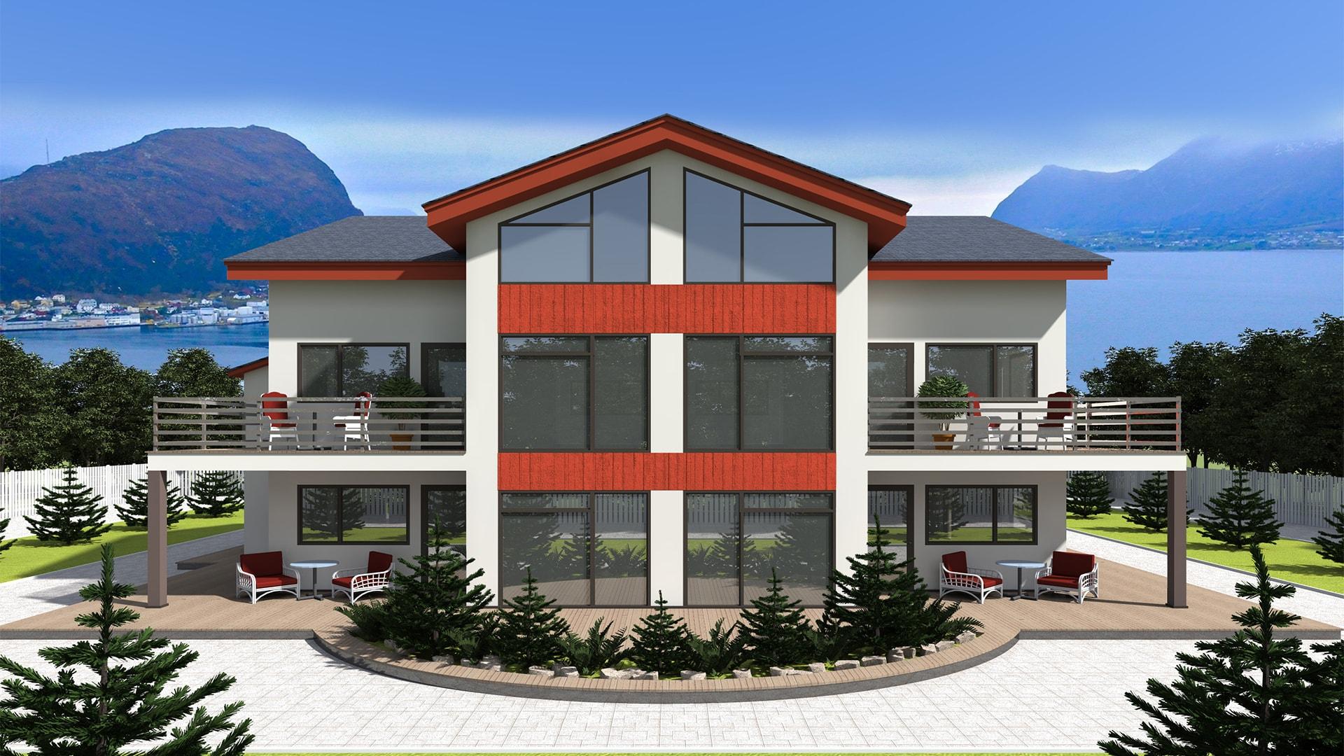 Проект дома DB5