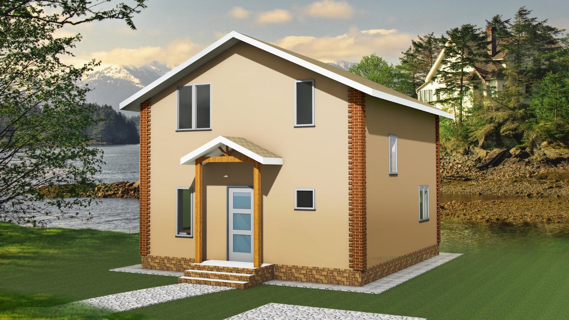 Проект дома DM10