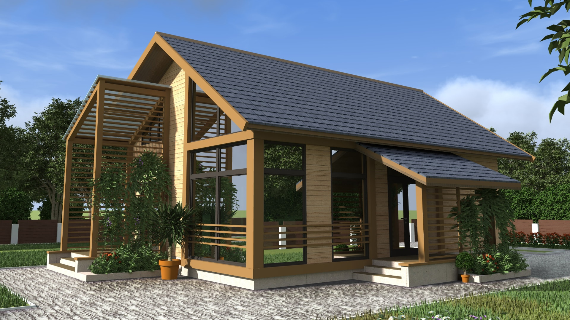 Проект дома DM11