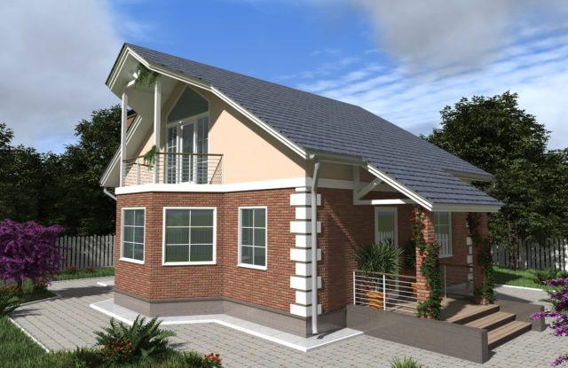 Проект дома DM17