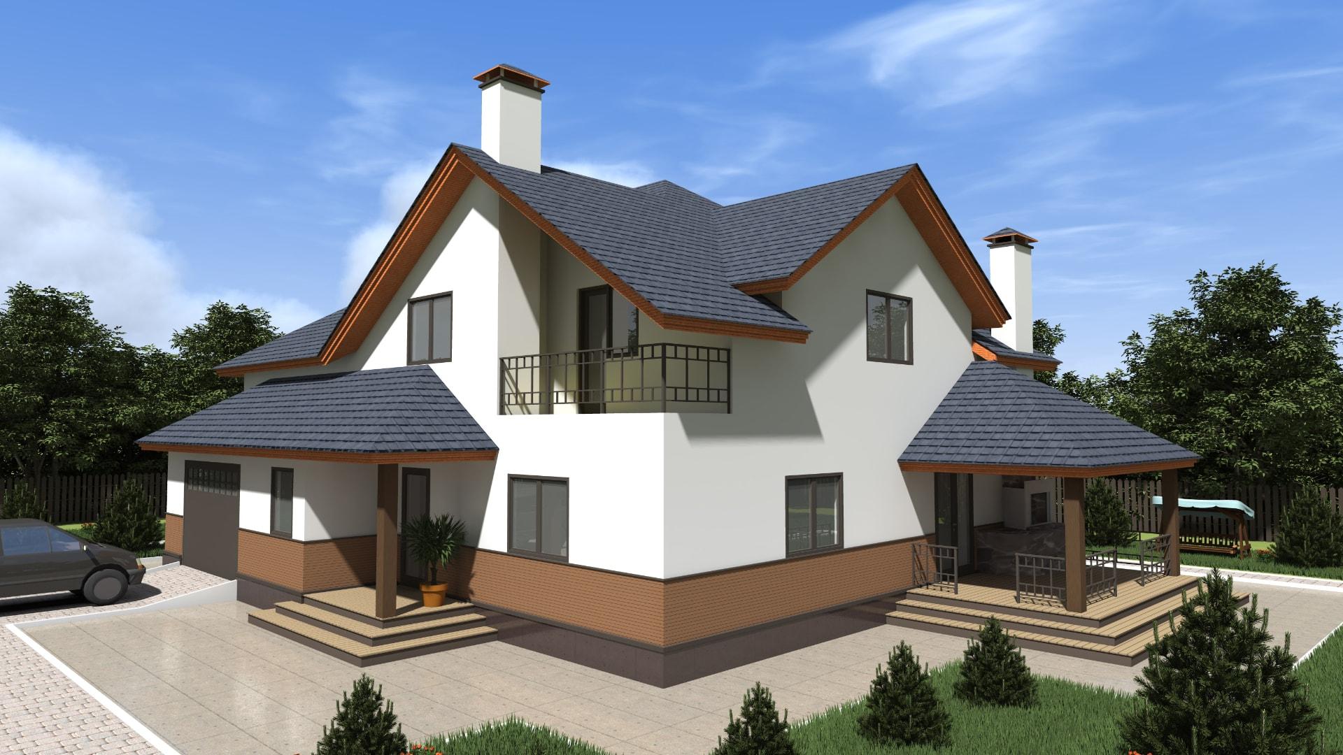 Проект дома DM18
