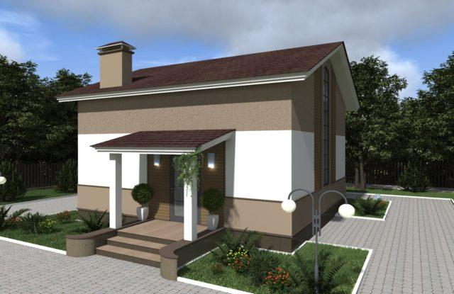 Проект дома DM19