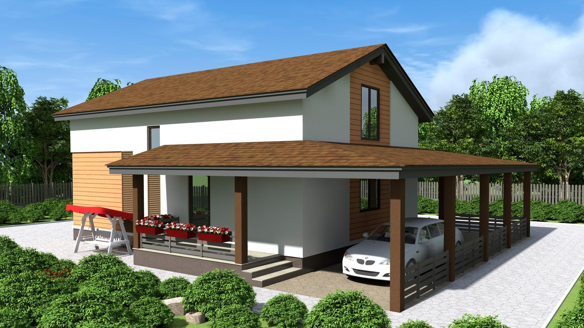 Проект дома DM22