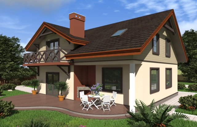 Проект дома DM24