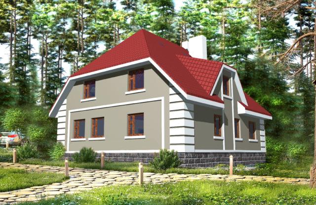 Проект дома VE12
