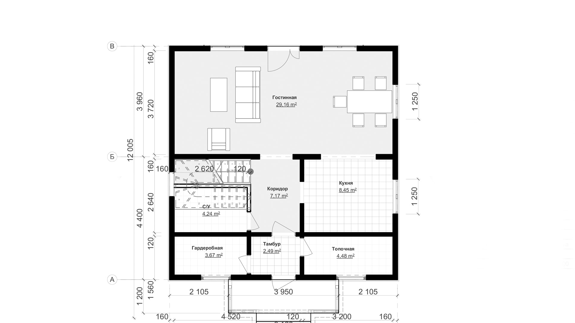 Планировка дома DM2 - фото 1