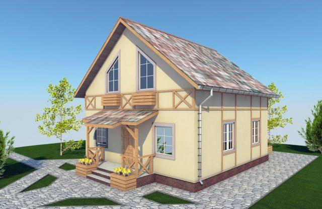 Проект дома DM2
