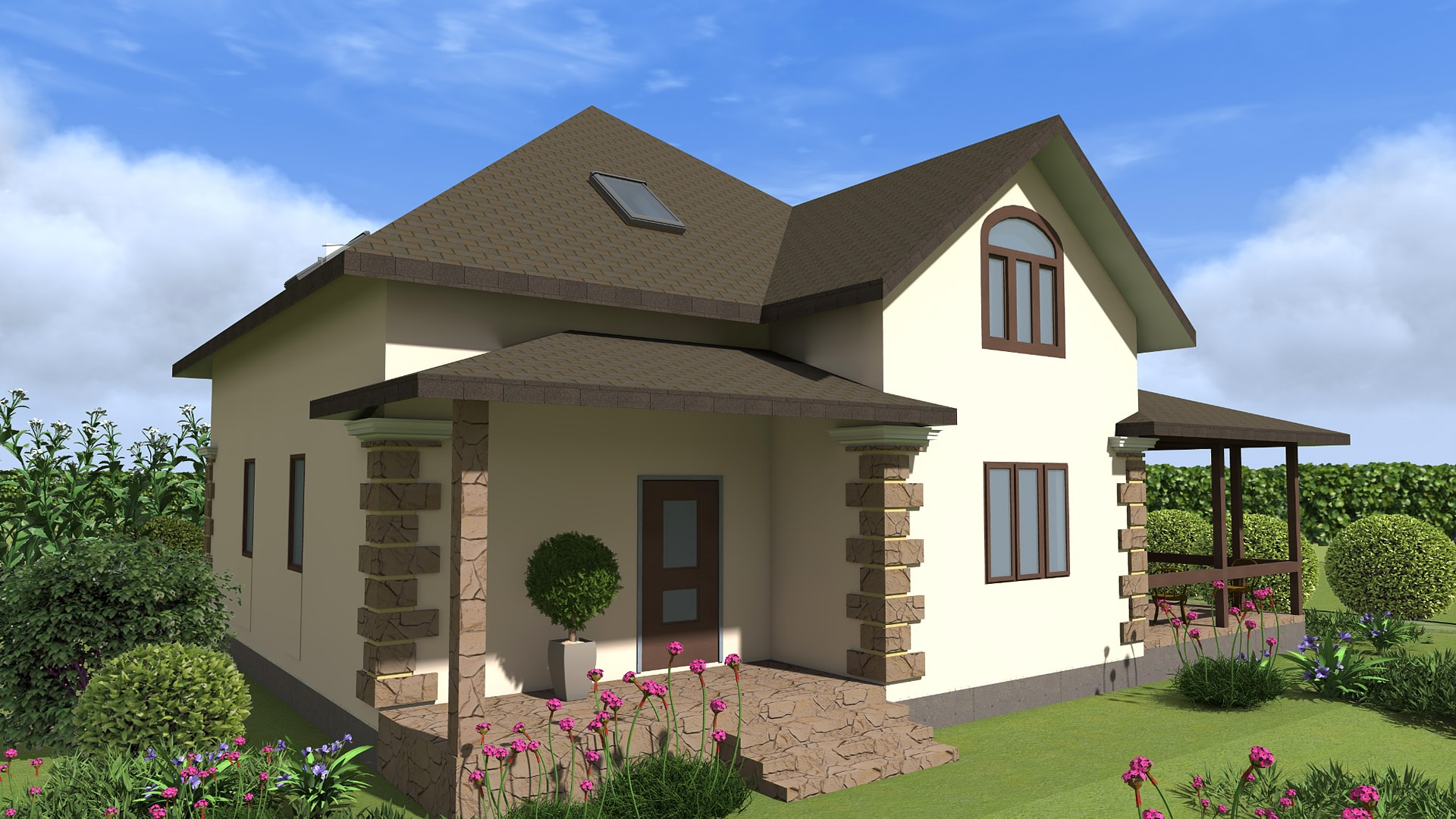 Проект дома DM3