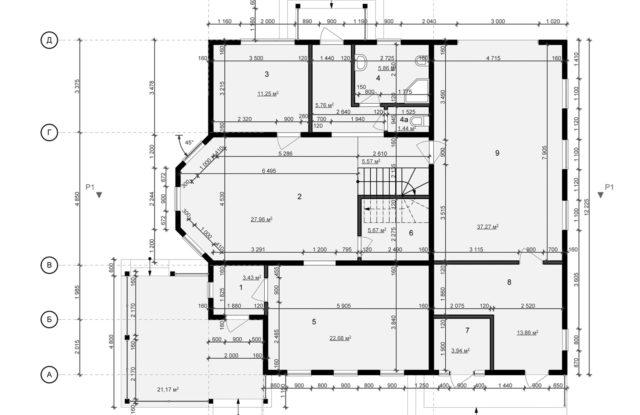 Планировка дома DM4 - фото 1