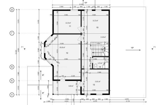 Планировка дома DM4 - фото 2