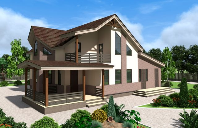 Проект дома DM4
