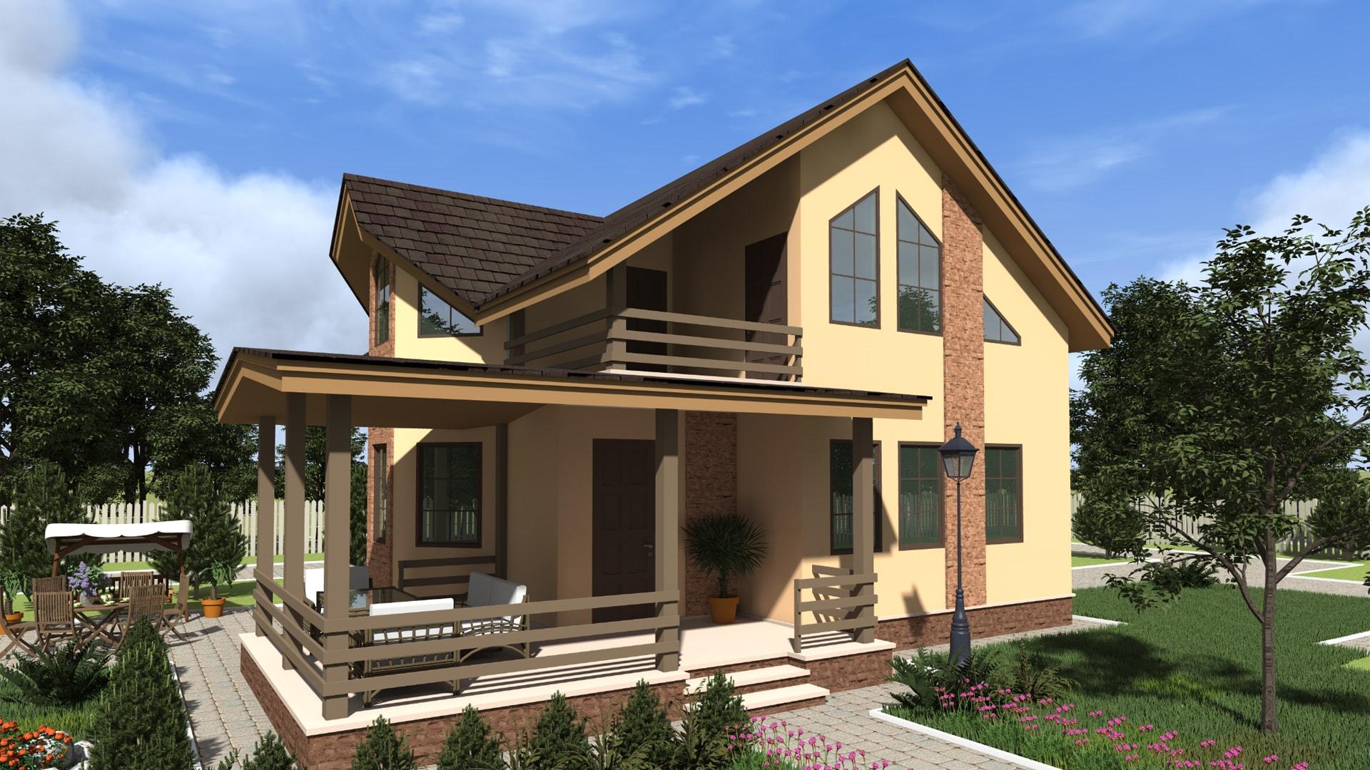 Проект дома DM5
