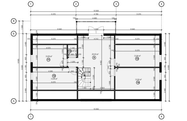 Планировка дома DM6 - фото 2