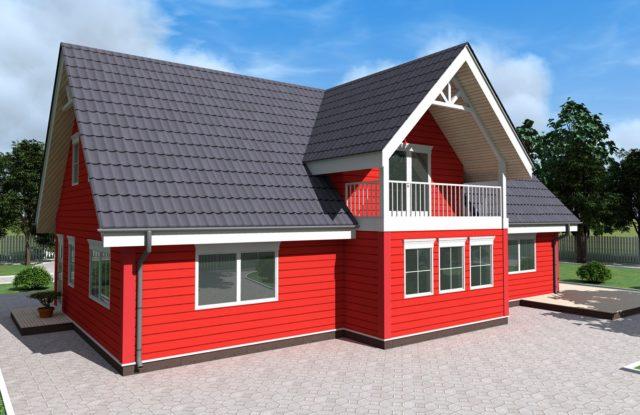 Проект дома DM6