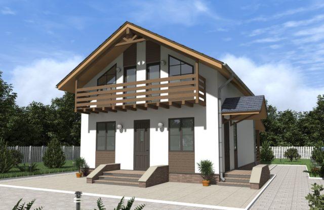 Проект дома DM7