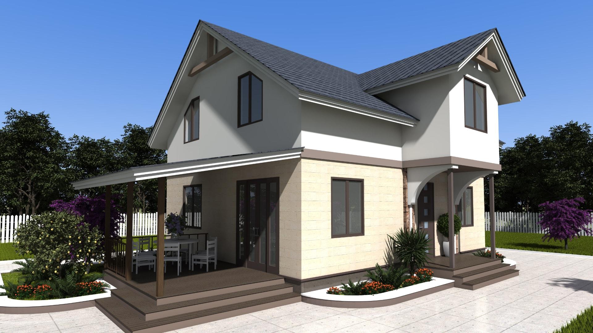 Проект дома DM9