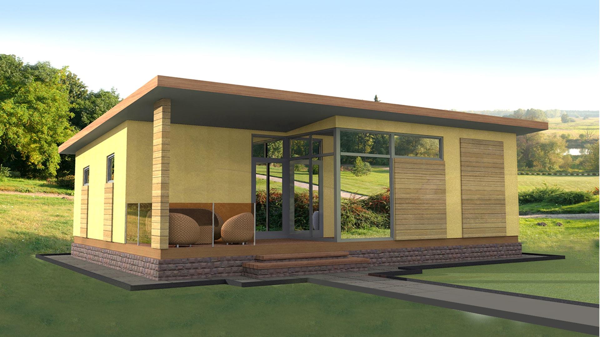 Проект дома DO1