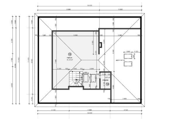 Планировка дома DO6 - фото 2