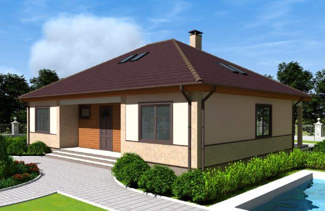 Проект дома DO5