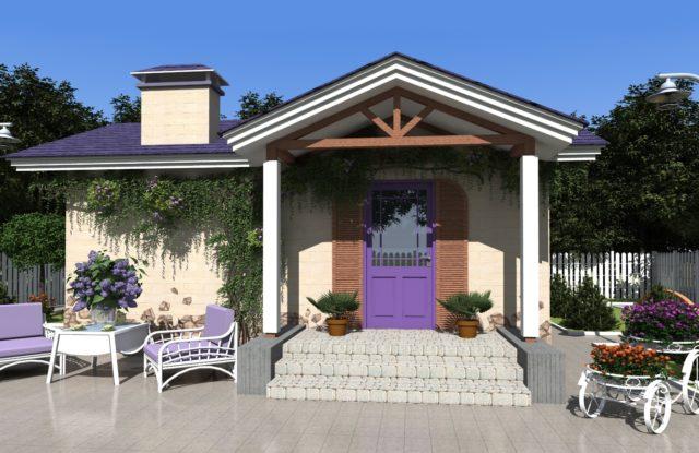 Проект дома DO6