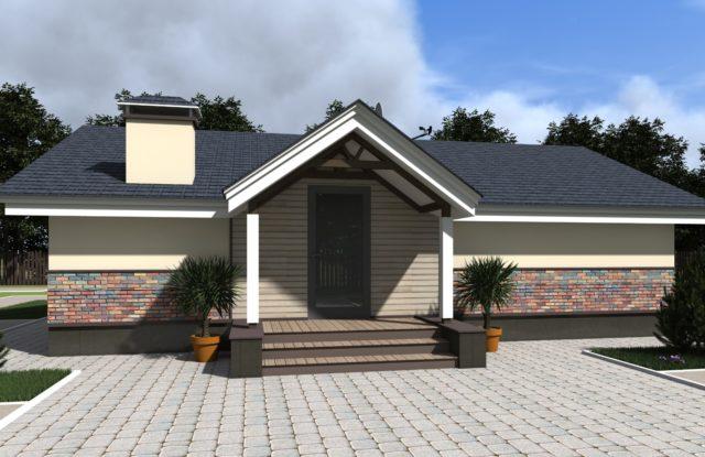Проект дома DO7
