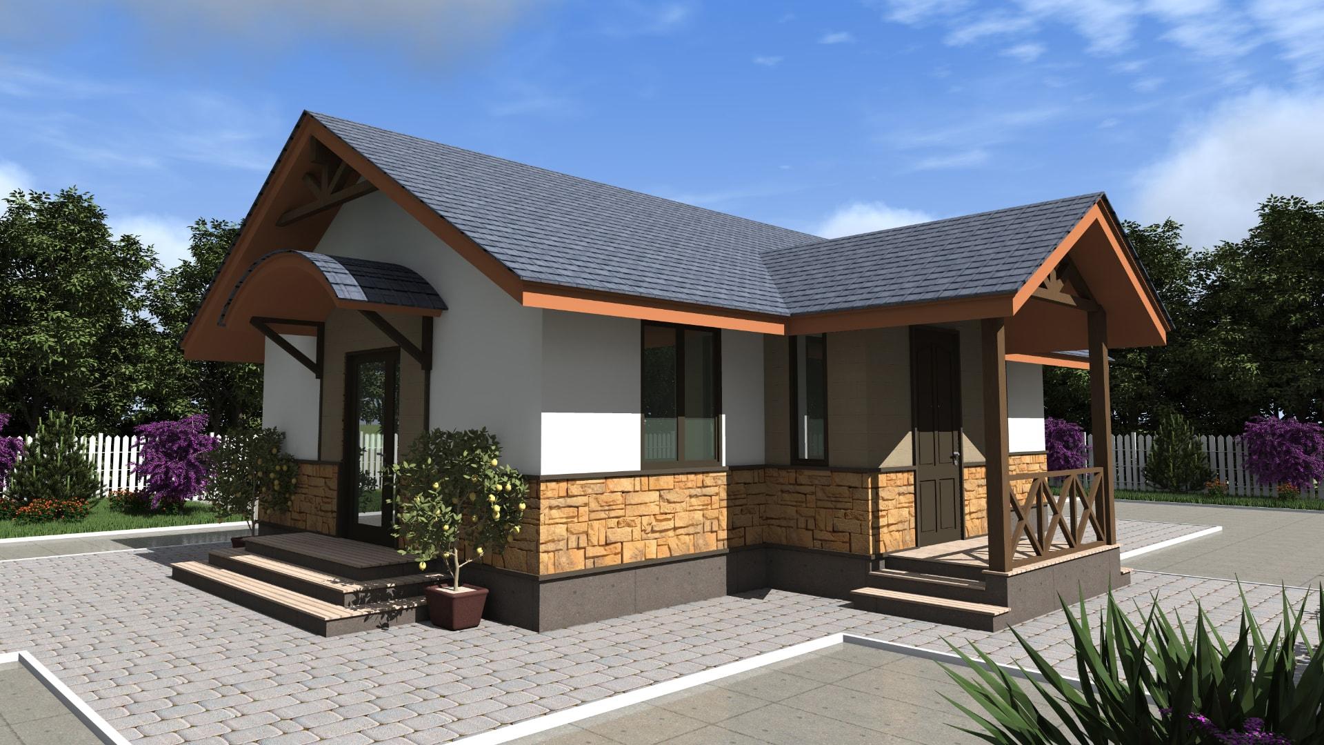 Проект дома DO8