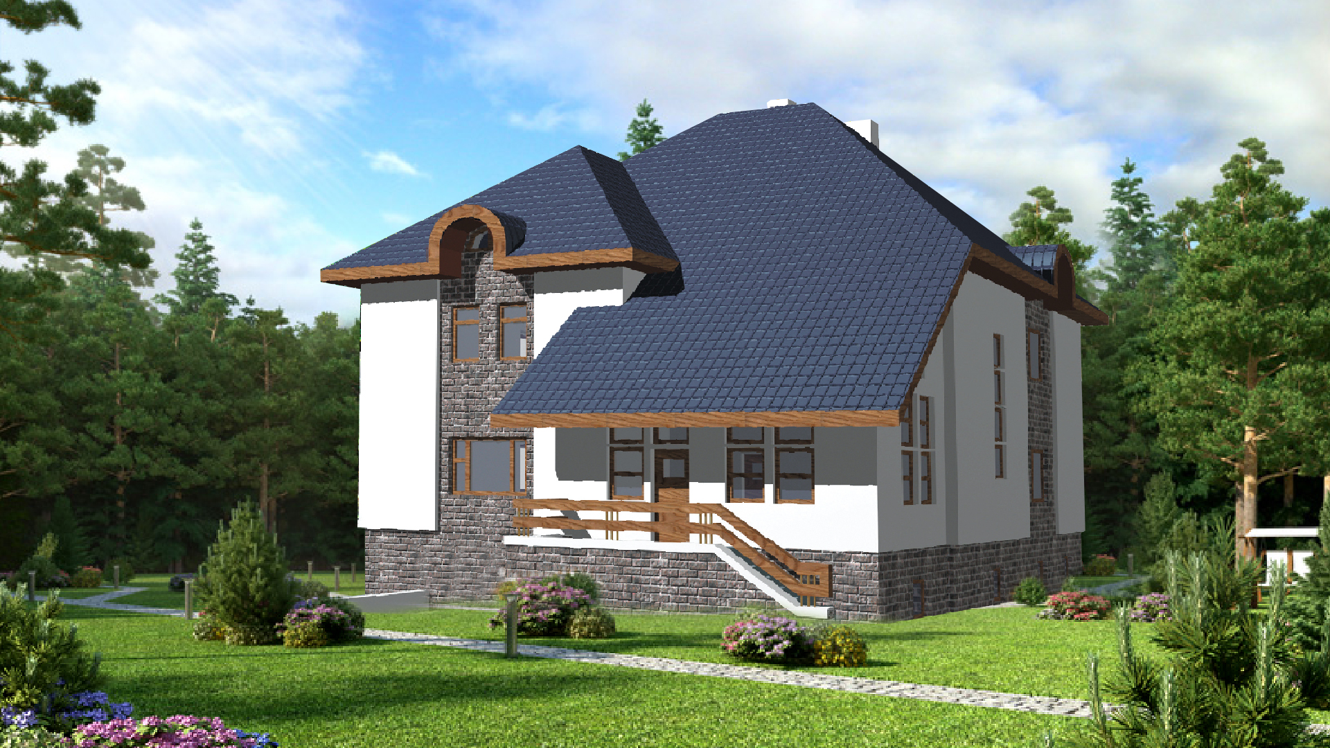 Проект дома VE14