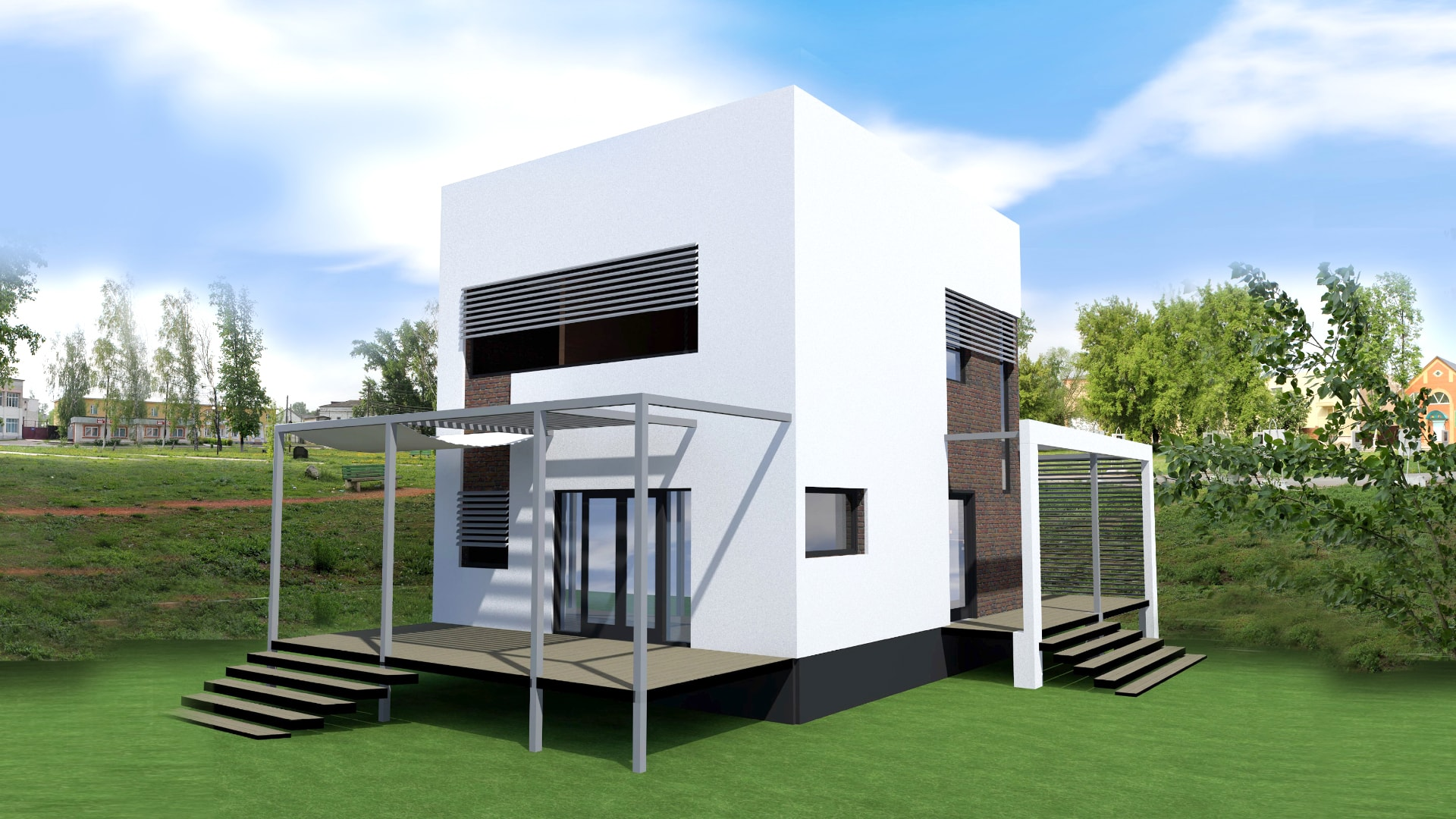 Проект дома VE1