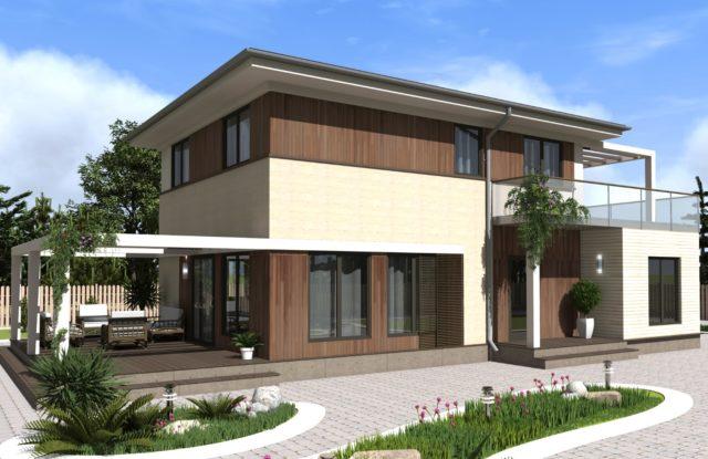 Проект дома VE2