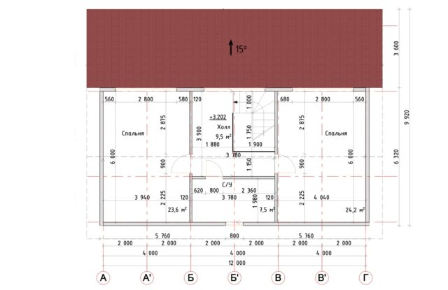 Планировка дома VE3 - фото 2