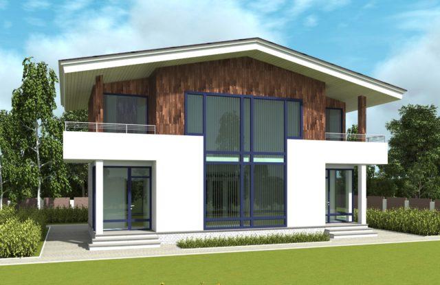 Проект дома VE6