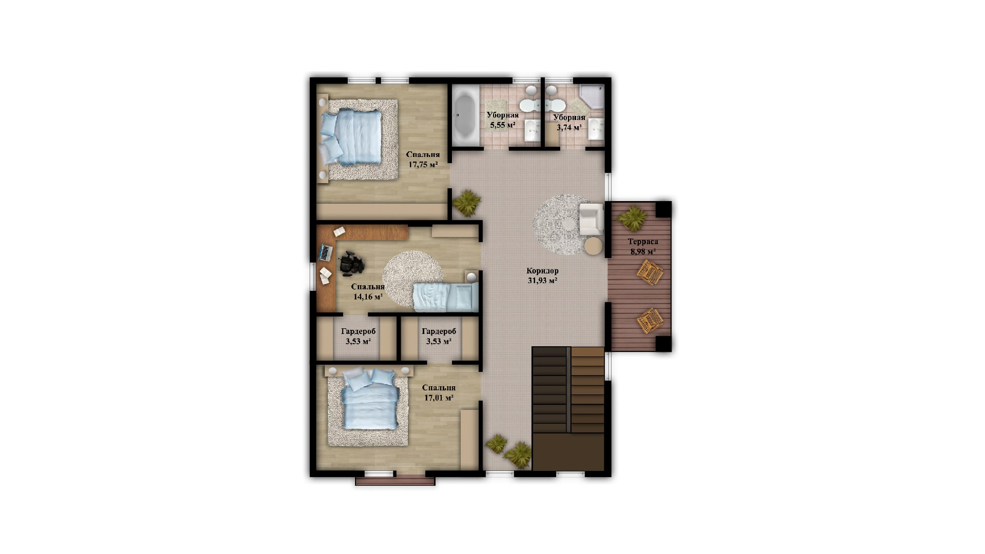 Планировка дома VE8 - фото 2