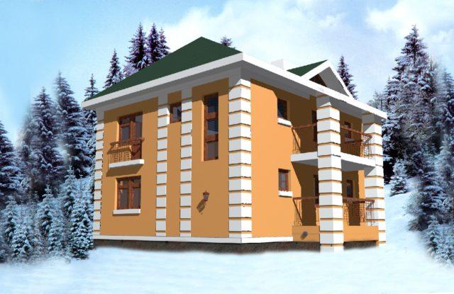 Проект дома VE8
