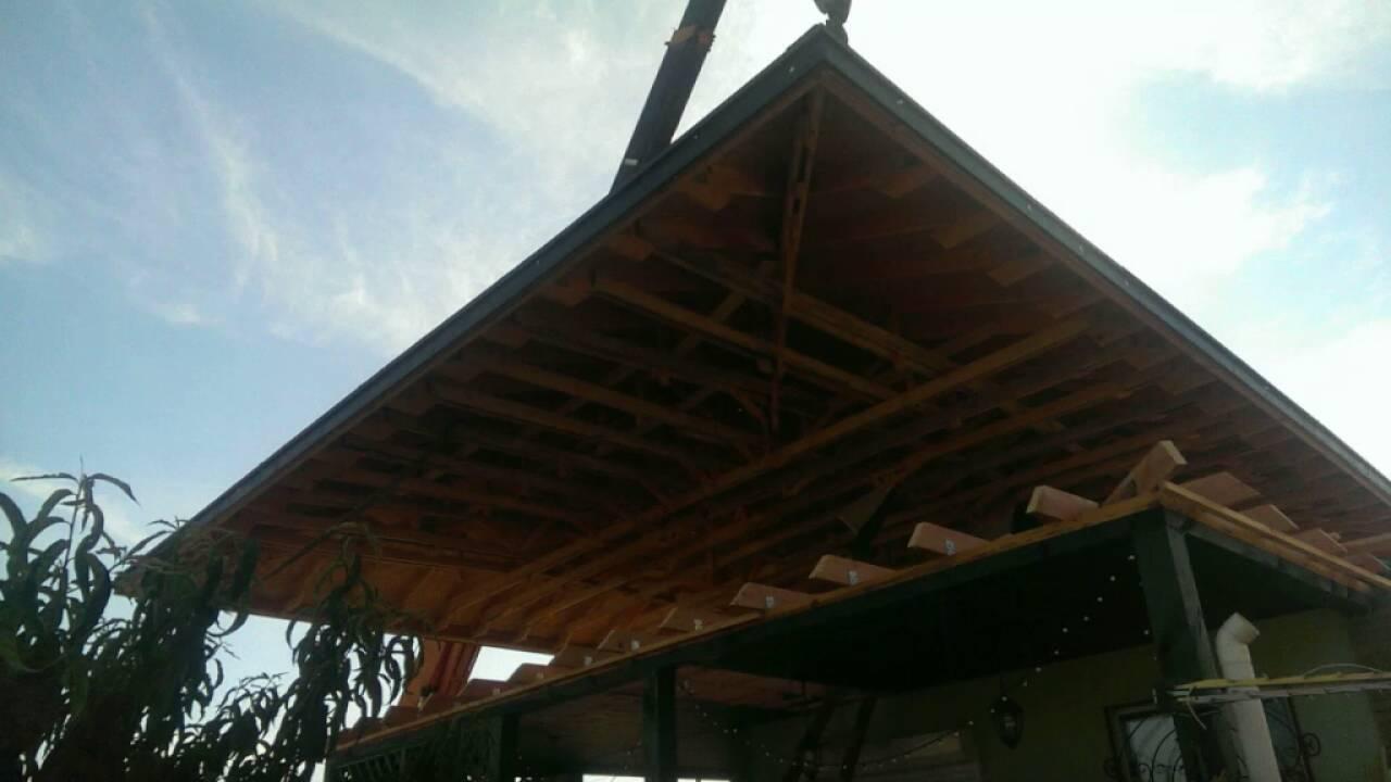 Снятие крыши