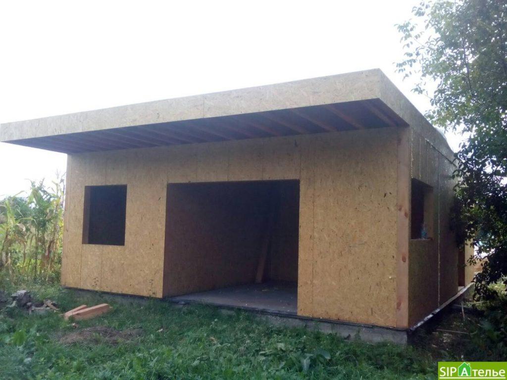Строительство дома из сип панелей 116.4 м2 в стиле минимализм - фото 14