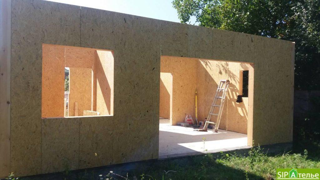 Строительство дома из сип панелей 116.4 м2 в стиле минимализм - фото 7