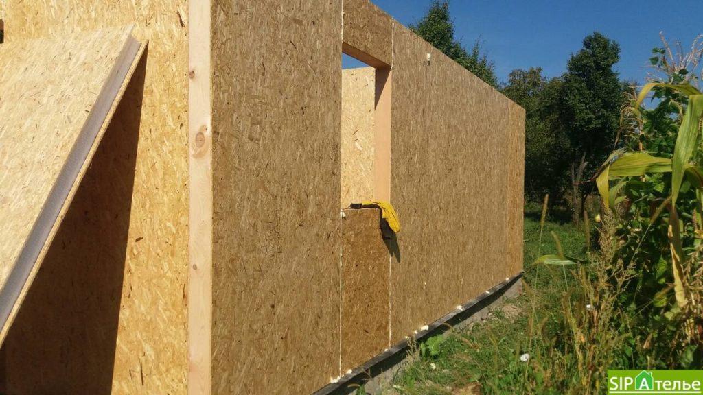 Строительство дома из сип панелей 116.4 м2 в стиле минимализм - фото 8