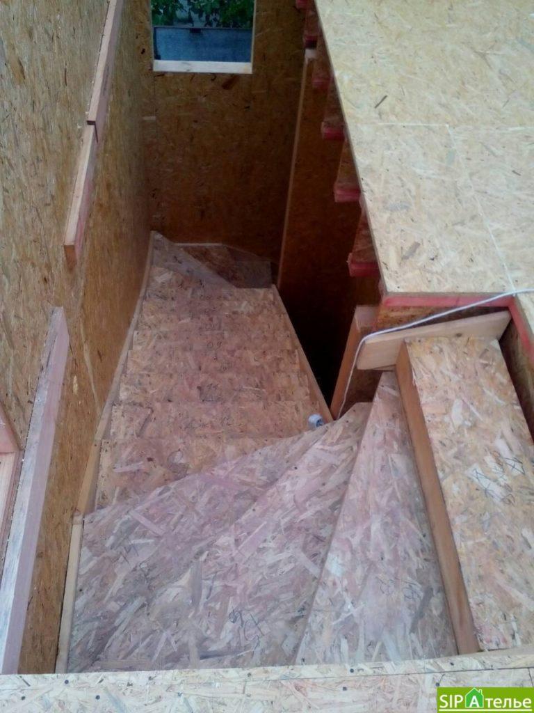 Строительство дома из сип панелей 116.4 м2 в стиле минимализм - фото 12