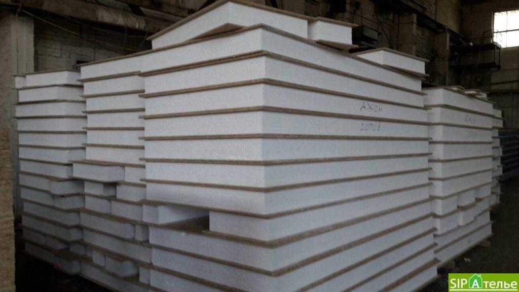 Строительство дома из сип панелей 116.4 м2 в стиле минимализм - фото 16
