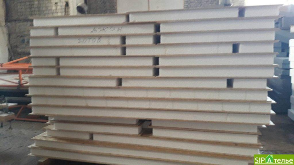 Строительство дома из сип панелей 116.4 м2 в стиле минимализм - фото 1