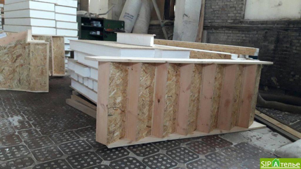 Строительство дома из сип панелей 116.4 м2 в стиле минимализм - фото 2