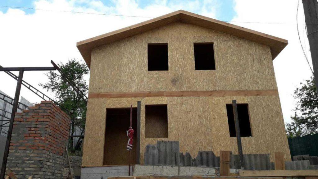 Строительство дома из-сип-панелей 141 м.кв в город Киев - фото 3
