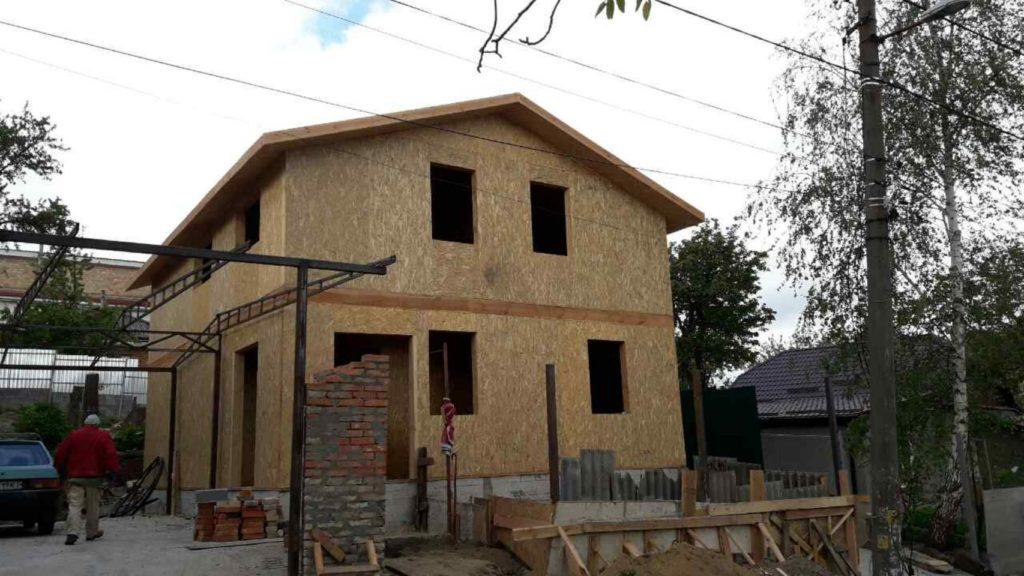 Строительство дома из-сип-панелей 141 м.кв в город Киев - фото 2